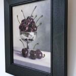 Marie Robinson Cherry Ripe Framed Side View Wychwood Art