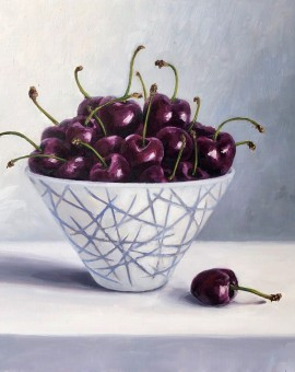 Marie Robinson Just a Bowl of Cherries Wychwood Art