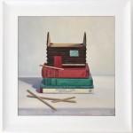 Marie Robinson Weather Lore framed Wychwood Art