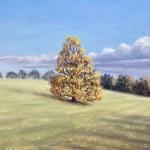 Marie Robinson_Autumn Breeze Tree Detail_Wychwood Art