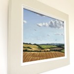 Marie Robinson_Red Kite Country Framed side view_Wychwood Art