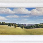 Marie Robinson_September Hills Framed_Wychwood Art