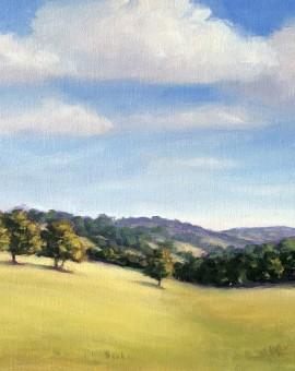Marie Robinson_September Hills_Wychwood Art
