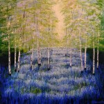 Amanda Horvath  Woodland Oasis       Landscape Painting, Impressionist Art, Affordable Contemporary Painting