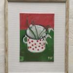 Deborah Windsor Snowdrops In A Spotty Enamel Mug (front) Wychwood Art-8a96e436