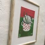 Deborah Windsor Snowdrops In a Spotty Mug side1 Wychwood Art-d72e213c