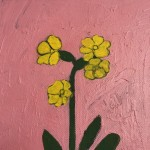 Deborah Windsor Yellow Flowers (close up 1) Wychwood Art-f159baa3