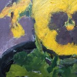 Deborah Windsor Yellow Pansies In A Flower Pot (detail 2) Wychwood Art-e1b29ea8