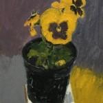 Deborah-Windsor-Yellow-Pansies-In-A-Flower-Pot-front-Wychwood-Art-7225ebbe-570×570