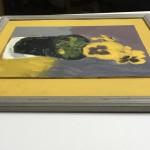 Deborah Windsor Yellow Pansies In A Flower Pot (side) Wychwood Art-91a031e7