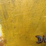 Deborah Windsor Yellow Pansies In A Flower Pot (signature) Wychwood Art-24fbfd3a