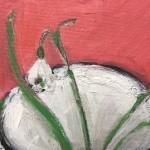 Deborah Windsor snowdrops In a Spotty Mug Wychwood Art-1ccb727d