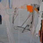 Diane Whalley Running Across the Beach V Wychwood Art