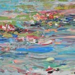 Diane Whalley The Summer Pond V Wychwood Art