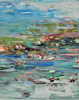 Diane Whalley The Summer Pond Wychwood Art