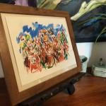Garth Bayley. Heart of the Race.Wychwood Art. 4-c8b68e52