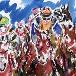 Garth Bayley. Heart of the Race.Wychwood Art. 5-4367b8af