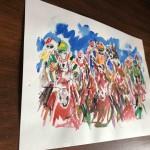 Garth Bayley. Heart of the Race.Wychwood Art. 6-2c8ae912