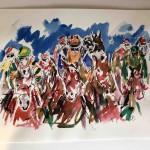 Garth Bayley. Heart of the Race.Wychwood Art. 9-f87011f3