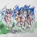 Garth Bayley. Polo Players.Wychwoodart.1-5f3717a6