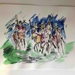 Garth Bayley. Polo Players.Wychwoodart.5-c51dad5e
