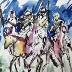Garth Bayley. Polo Players.Wychwoodart.6-fe1f7fd0