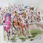 Garth Bayley. Round the bend. Wychwood Art 1-50b584f2