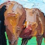 Georgie Dowling Grazing Horse 004-2e8b175c
