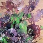 Jo Haran Floral Burst In Glass Vase Wychwood Art5