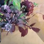 Jo Haran Floral Burst In Glass Vase Wychwood Art6