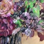 Jo Haran Floral Burst In Glass Vase Wychwood Art7