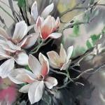 Jo Haran Perched Magnolia Wychwood Art2