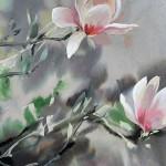 Jo Haran Perched Magnolia Wychwood Art4