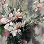 Jo Haran Perched Magnolia Wychwood Art5