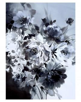 Jo Haran Petals In Monotone Wychwood Art1