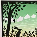 Joanna Padfield Flurry Linocut Print 10-e2138276