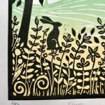 Joanna Padfield Flurry Linocut Print 5-3035565d