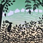 Joanna Padfield Flurry Linocut Print 9-12d1cb33