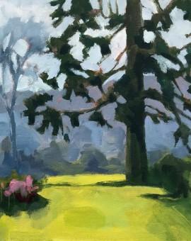Margaret Crutchley The Park in Summer Wychwood Art