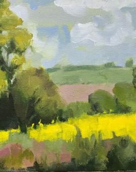 Margaret Crutchley Yellow April Wychwood Art resized