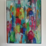Mary Scott, Oscillation (II), Wychwood Art, hung