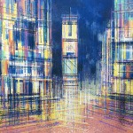 New York – Times Square At Midnight, Marc Todd, Original Contemporary Cityscape Art, Buy New York Art Online