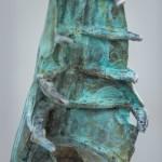Adam Warwick Hall – Discombobulated Liberator- Bronze- 1 of 12- CU 1-Wychwood Art -8605313b