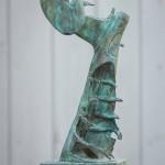 Adam Warwick Hall – Discombobulated Liberator- Bronze- 1 of 12- View a-Wychwood Art -153104f5
