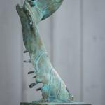 Adam Warwick Hall – Discombobulated Liberator- Bronze- 1 of 12- View d-Wychwood Art -49d90c51