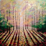 Amanda Horvath   A Golden Light       Landscape Painting, Impressionist Art, Affordable Contemporary Painting-0717f715