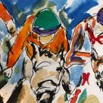 Garth Bayley. Down the Fairway.Wychwood Art.7-c5ba3539