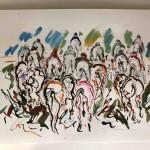 Garth Bayley. Riding High. Wychwood Art.5-4a003219