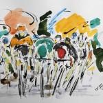 Garth Bayley. Tour de France Stage 11.Wychwood Art.1-442e6f47