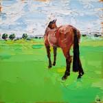 Georgie Dowling Gazing Horse Wychwood art 01-98185964